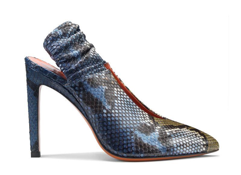 Обувь из кожи питона в коллекции Santoni осень-зима 2019-2020  - фото 2