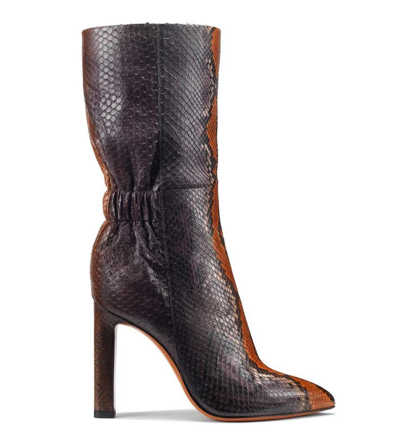Обувь из кожи питона в коллекции Santoni осень-зима 2019-2020  - фото 5