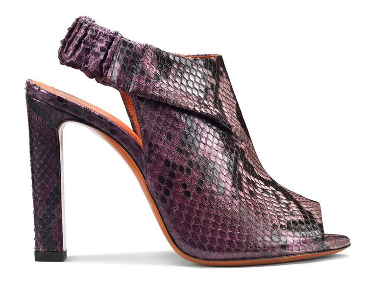 Обувь из кожи питона в коллекции Santoni осень-зима 2019-2020  - фото 6