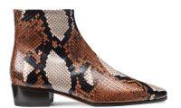Обувь из кожи питона в коллекции Santoni осень-зима 2019-2020
