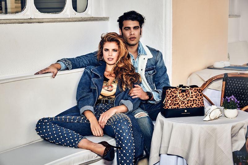 Рекламная кампания коллекции Guess Jeans осень-зима 2019-2020 - фото 1