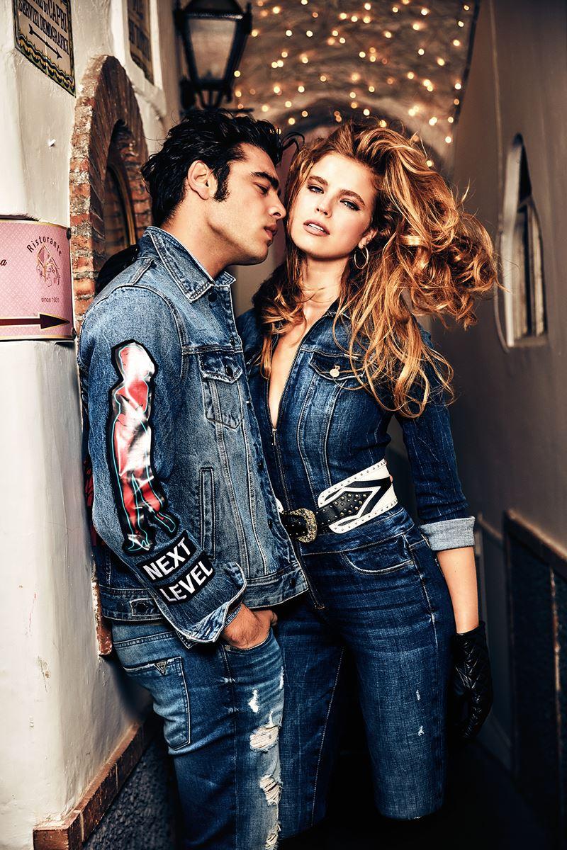 Рекламная кампания коллекции Guess Jeans осень-зима 2019-2020 - фото 2