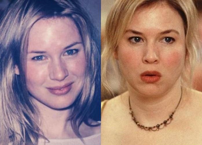 Как лишний вес меняет разные лица: 10 звёзд до и после прибавки в весе - Рене Зеллвегер
