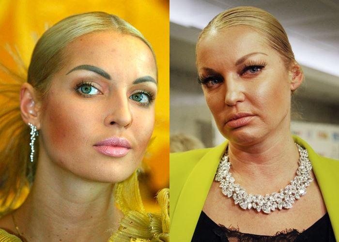 Пошлость и безвкусица 7 российских звёзд, которые застряли в прошлом - Анастасия Волочкова