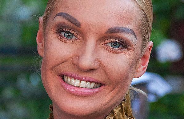 Долой татуаж: модные брови 2019-2020  - Анастасия Волочкова и её татуированные брови