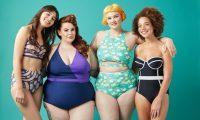 Пляжный плюс сайз: как выглядят полные девушки-модели в купальниках