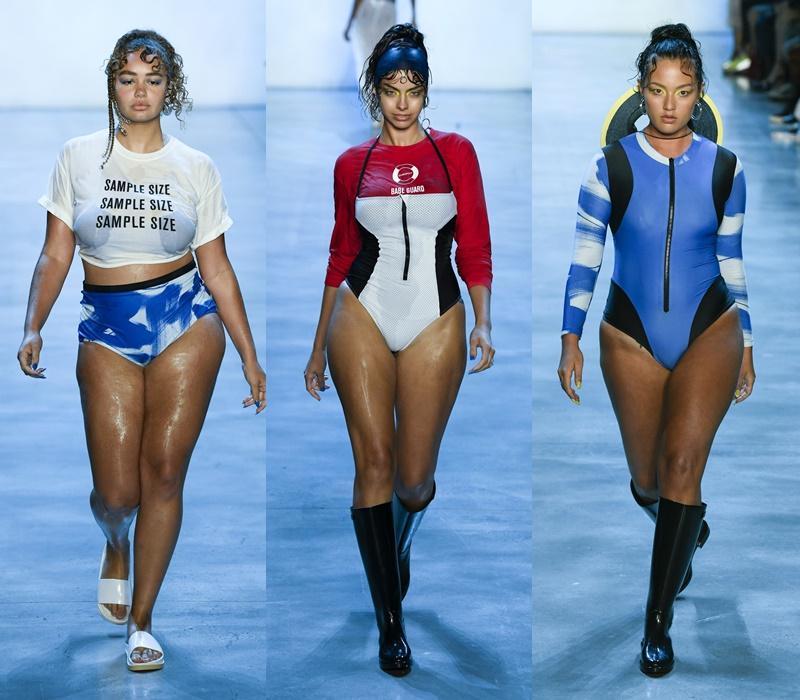 Как выглядят полные девушки-модели в купальниках - фото 8