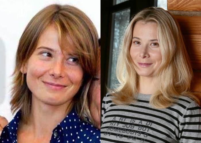 Российские звезды ставшие блондинками из брюнеток и шатенок - Юлия Высоцкая