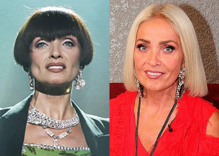 Российские звезды ставшие блондинками из брюнеток и шатенок - Лайма Вайкуле