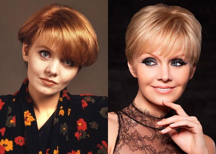 Российские звезды ставшие блондинками из брюнеток и шатенок - Валерия