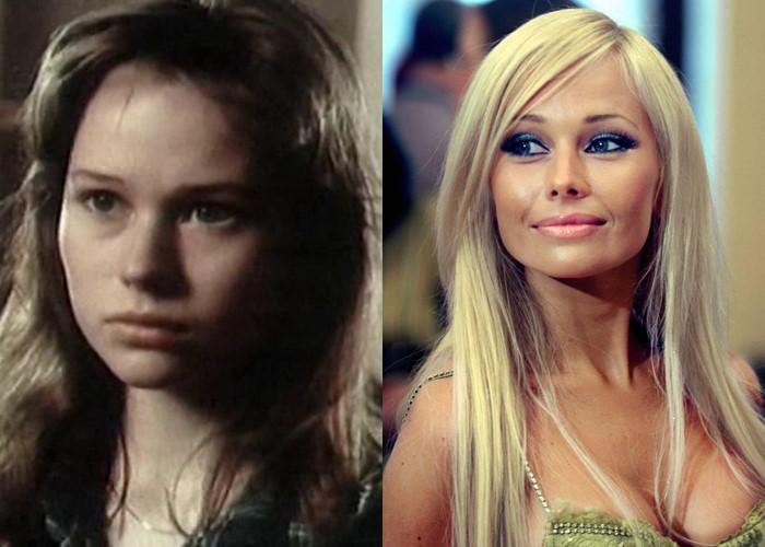 Российские звезды ставшие блондинками из брюнеток и шатенок - Елена Корикова