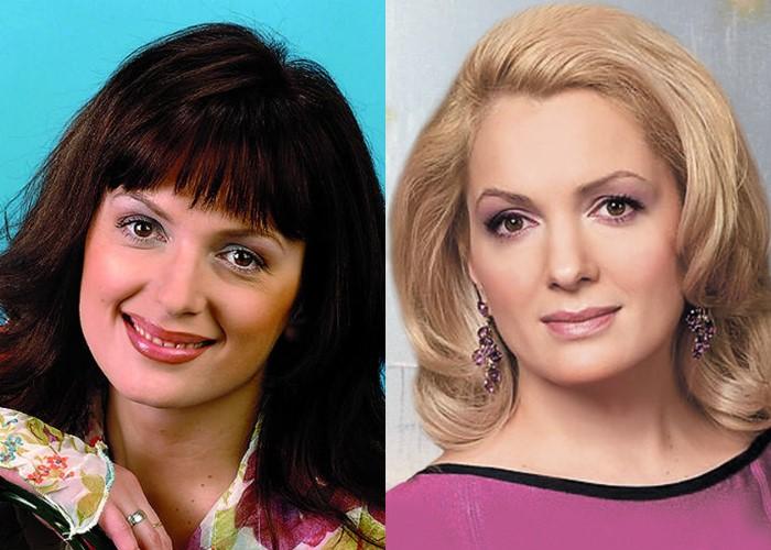 Российские звезды ставшие блондинками из брюнеток и шатенок - Мария Порошина
