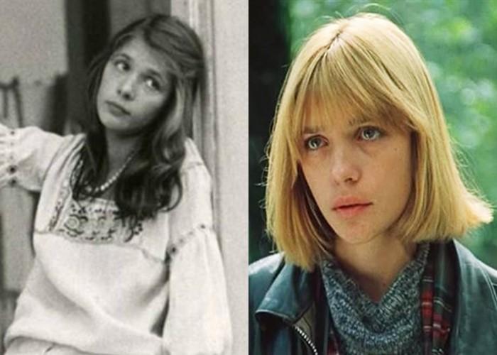 Российские звезды ставшие блондинками из брюнеток и шатенок - Вера Глаголева