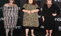 Три знаменитости плюс сайз с фигурой «яблоко» в неудачных платьях