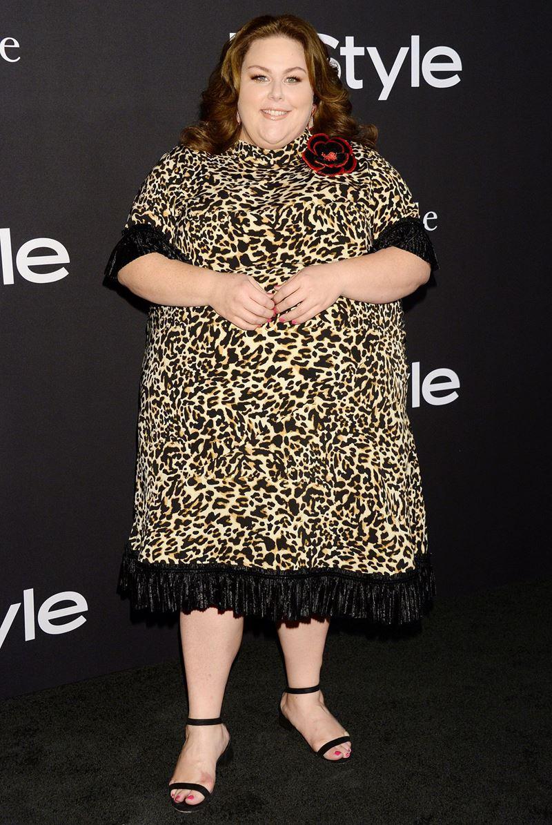 Знаменитости плюс сайз с фигурой «яблоко» в неудачных платьях - Крисси Метц