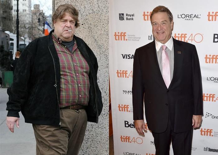 10 знаменитых мужчин, которые сильно похудели - Джон Гудман
