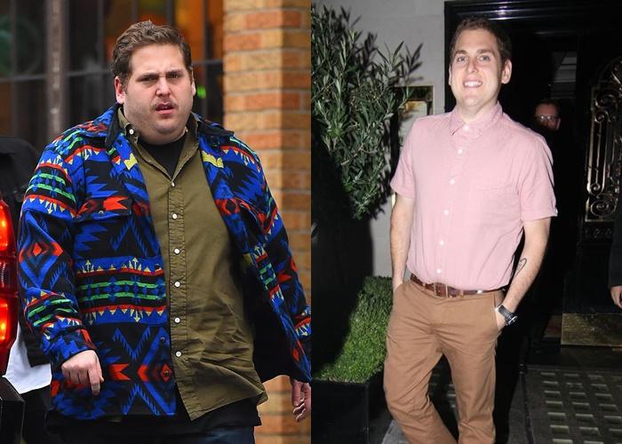 10 знаменитых мужчин, которые сильно похудели - Джона Хилл