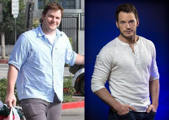 10 знаменитых мужчин, которые сильно похудели - Крис Пратт