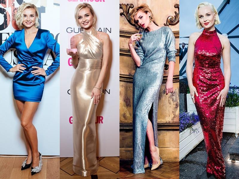 Дерзкая девчонка: звёздный стиль Полины Гагариной - Блестящие ткани