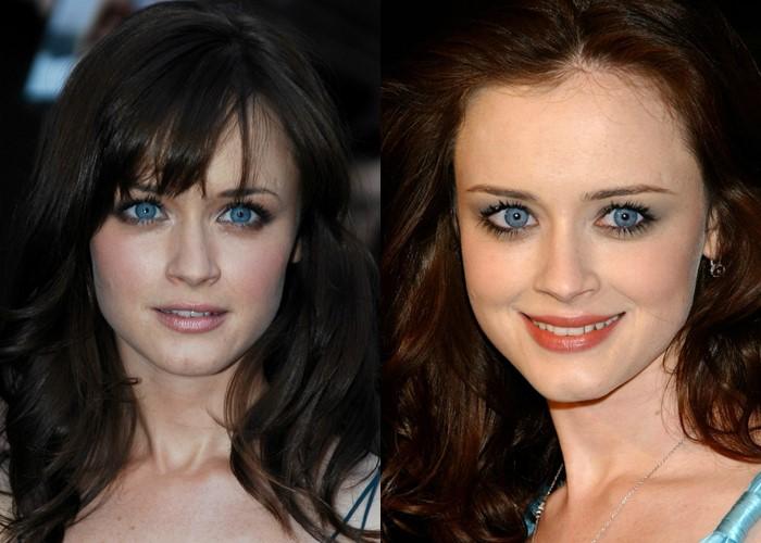 12 знаменитых женщин с красивыми серо-голубыми глазами -  Алексис Бледел