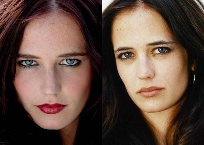 12 знаменитых женщин с красивыми серо-голубыми глазами - Ева Грин