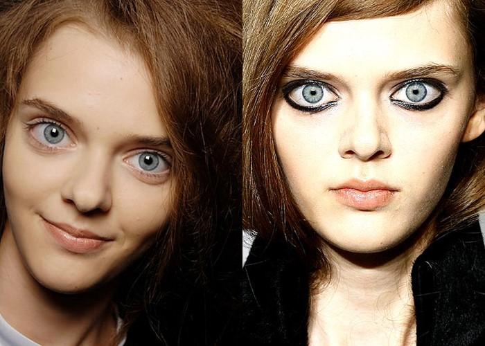 12 знаменитых женщин с красивыми серо-голубыми глазами - Маша Тельная