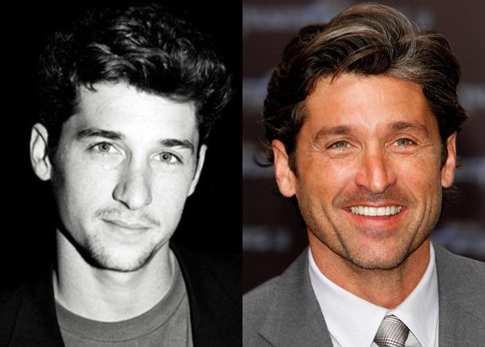 Возраст, ракурс или ринопластика: 10 звёзд-мужчин, чьи носы изменились - Патрик Демпси