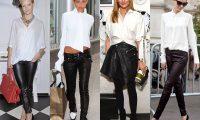 Звёздный стиль: 5 способов носить белую рубашку (или блузку)
