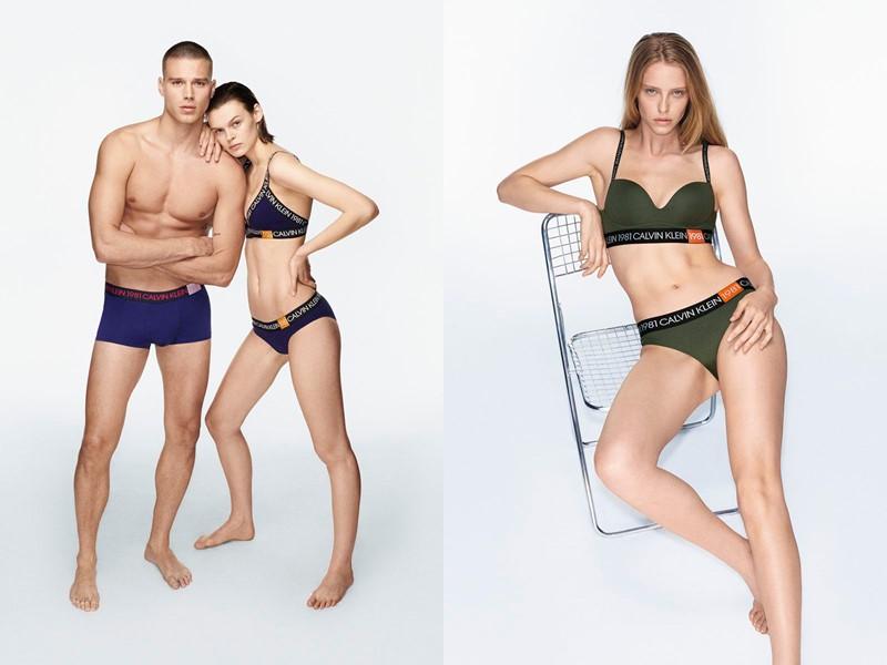 Рекламная кампания коллекции нижнего белья Calvin Klein осень-зима 2019-2020 - фото 1