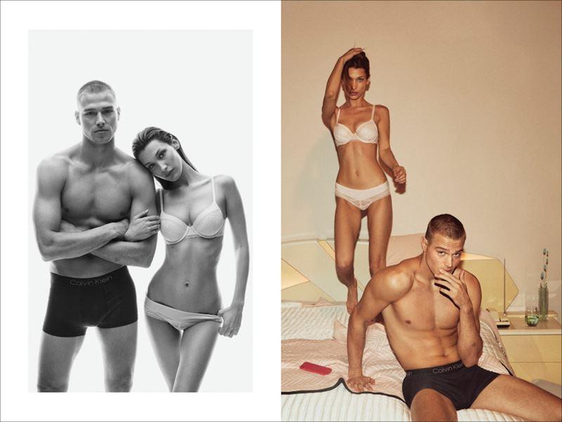 Рекламная кампания коллекции нижнего белья Calvin Klein осень-зима 2019-2020 - фото 10