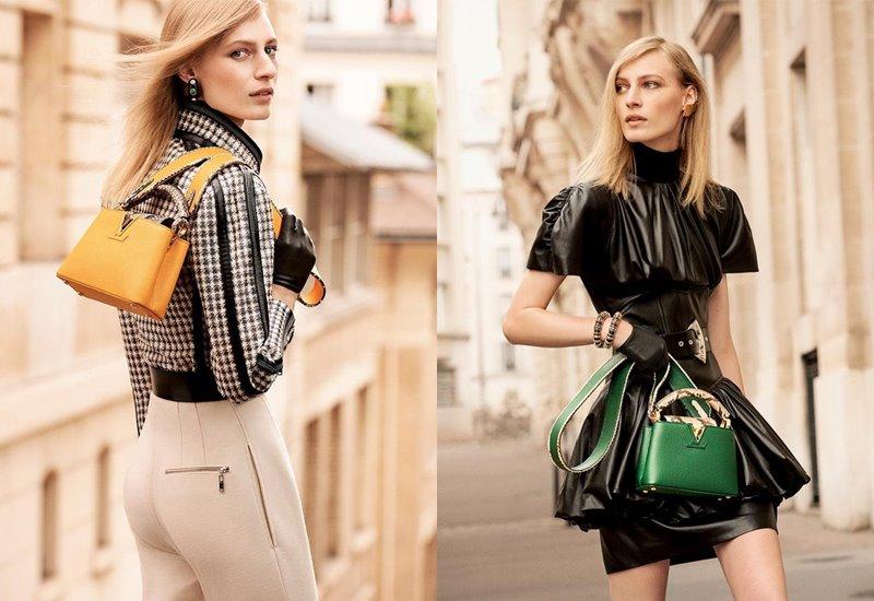 Рекламная кампания коллекции сумок Louis Vuitton Capucines осень-зима 2019-2020 - фото 2