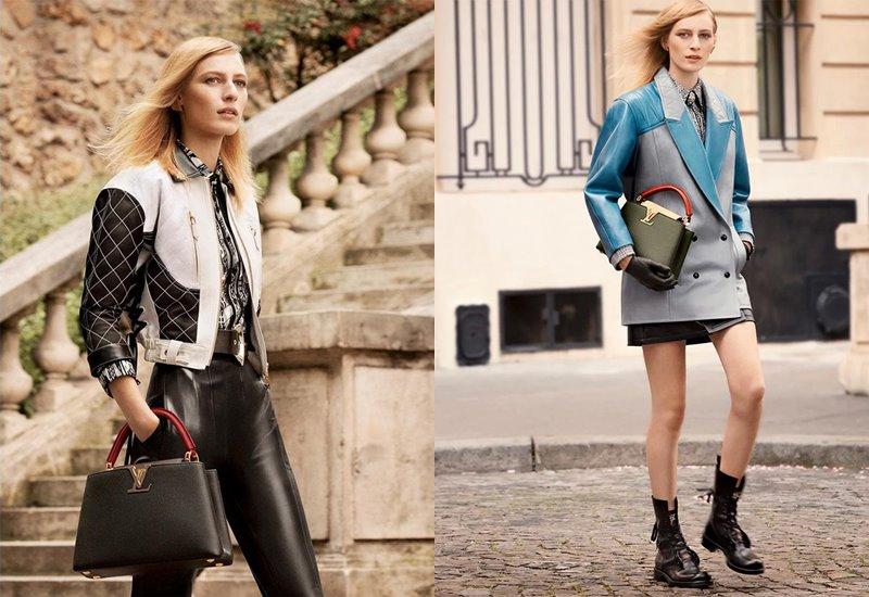 Рекламная кампания коллекции сумок Louis Vuitton Capucines осень-зима 2019-2020 - фото 3