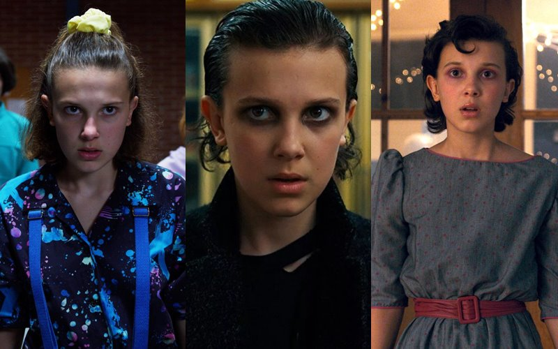 Стиль на экране: самые влиятельные ТВ-персонажи в мире моды - Одиннадцать из «Очень странных дел»