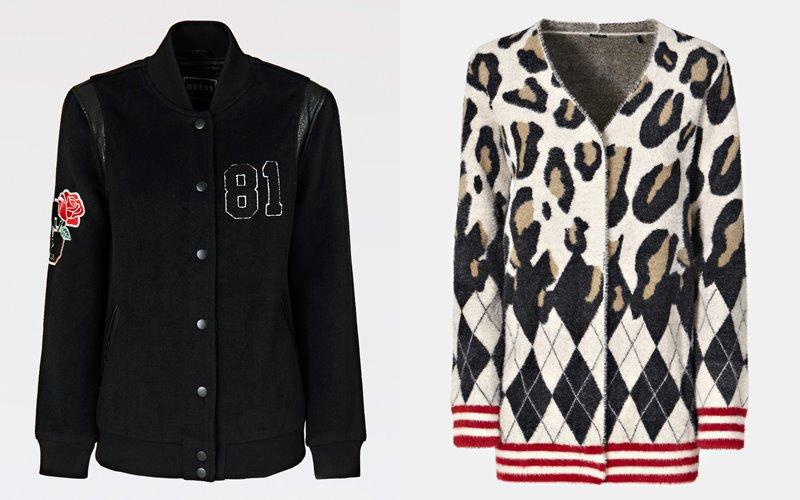 Университетский стиль от GUESS в капсульной коллекции LA GUESSERS осень-зима 2019-2020 - фото 10