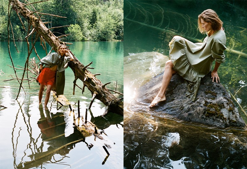 Zara экологичная капсульная коллекция «Забота о воде» - фото 3