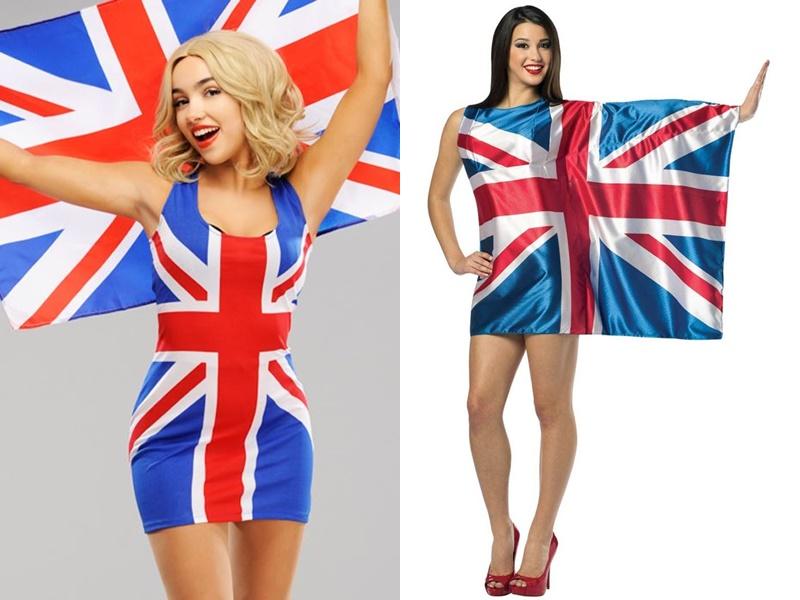 Идеи для косплея: персонажи для костюмов на Хэллоуин-2019  - Британский флаг