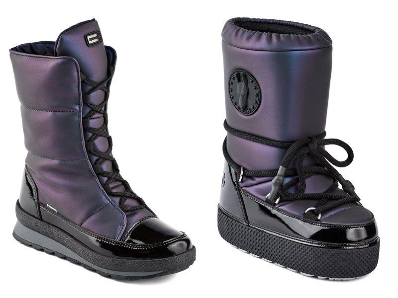 Синий и лиловый металлик: новые цвета в коллекции обуви Jog Dog осень-зима 2019-2020 - фото 3
