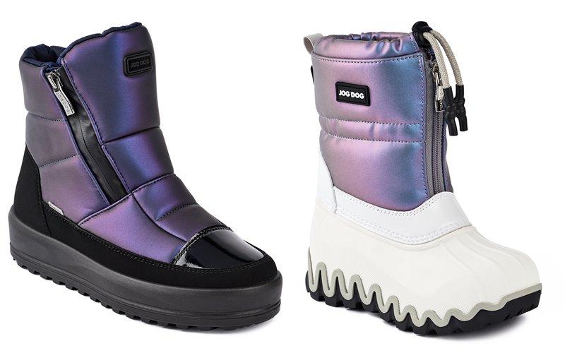 Синий и лиловый металлик: новые цвета в коллекции обуви Jog Dog осень-зима 2019-2020 - фото 4