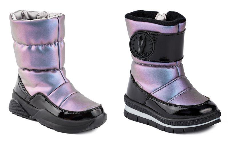 Синий и лиловый металлик: новые цвета в коллекции обуви Jog Dog осень-зима 2019-2020 - фото 5