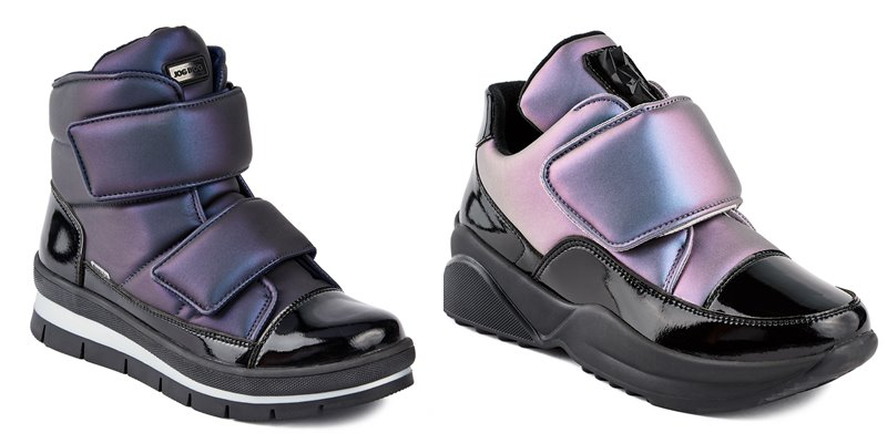 Синий и лиловый металлик: новые цвета в коллекции обуви Jog Dog осень-зима 2019-2020 - фото 6