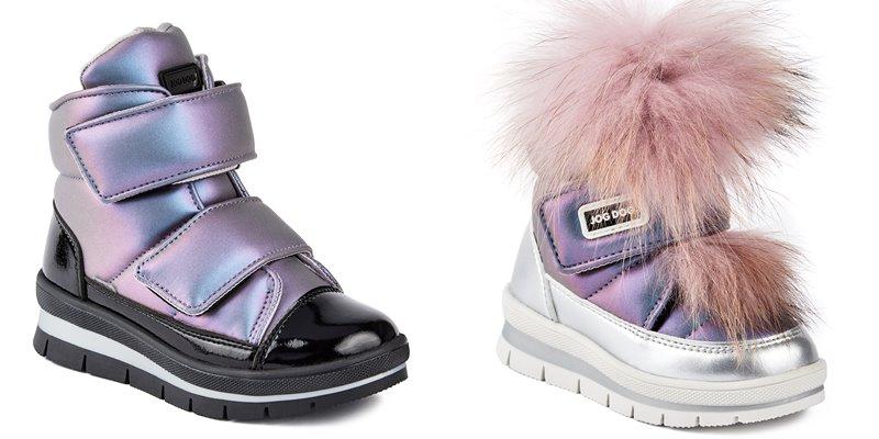 Синий и лиловый металлик: новые цвета в коллекции обуви Jog Dog осень-зима 2019-2020 - фото 7