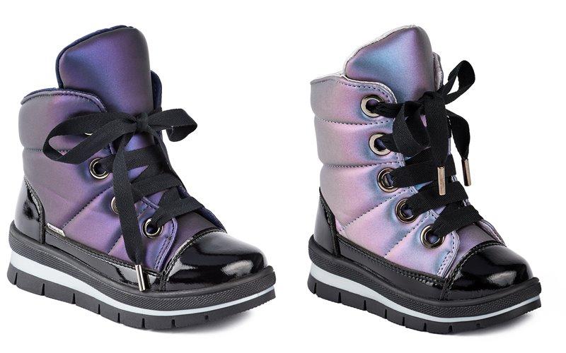 Синий и лиловый металлик: новые цвета в коллекции обуви Jog Dog осень-зима 2019-2020 - фото 8