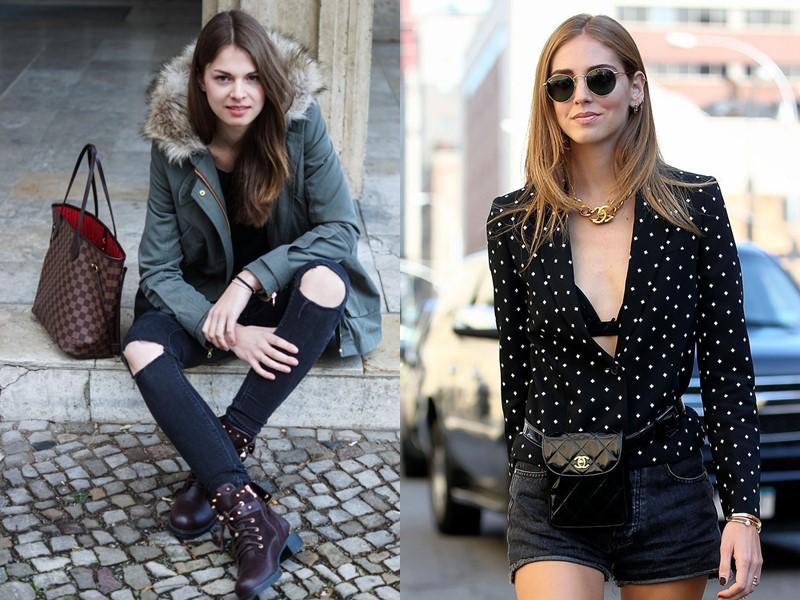 EUROFASHION: любимые бренды и тренды в России и Европе - парка и сумка поясная