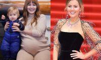 6 русских звёзд, которые сильно поправились во время беременности (а потом похудели)