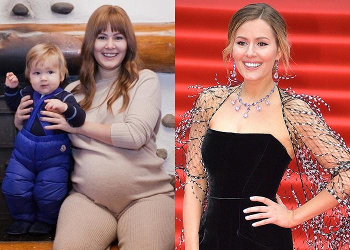 6 русских звёзд, которые сильно поправились во время беременности (а потом похудели) - фото - Мария Кожевникова