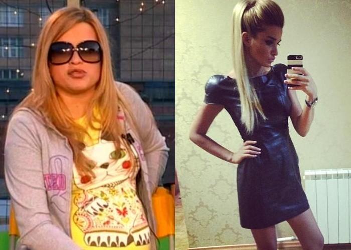 6 русских звёзд, которые сильно поправились во время беременности (а потом похудели) - фото - Ксения Бородина