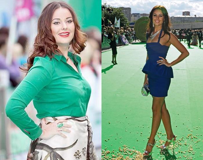 6 русских звёзд, которые сильно поправились во время беременности (а потом похудели) - фото - Оксана Фёдорова