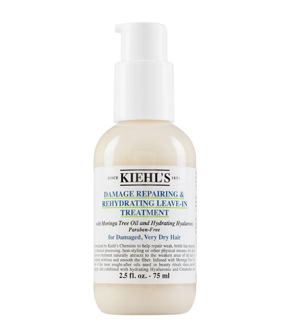 Осенне-зимний уход для волос - косметика Kiehl's - Несмываемый уход для хрупких и поврежденных волос