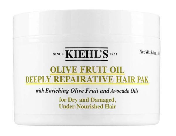 Осенне-зимний уход для волос - косметика Kiehl's - Питательная маска для волос с маслом оливы