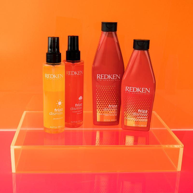 Обновленная гамма для гладкости непослушных волос Frizz Dismiss от Redken